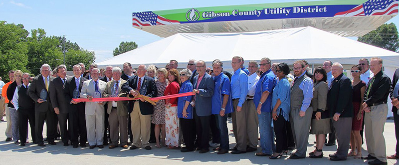 Grand Opening of our CNG station!