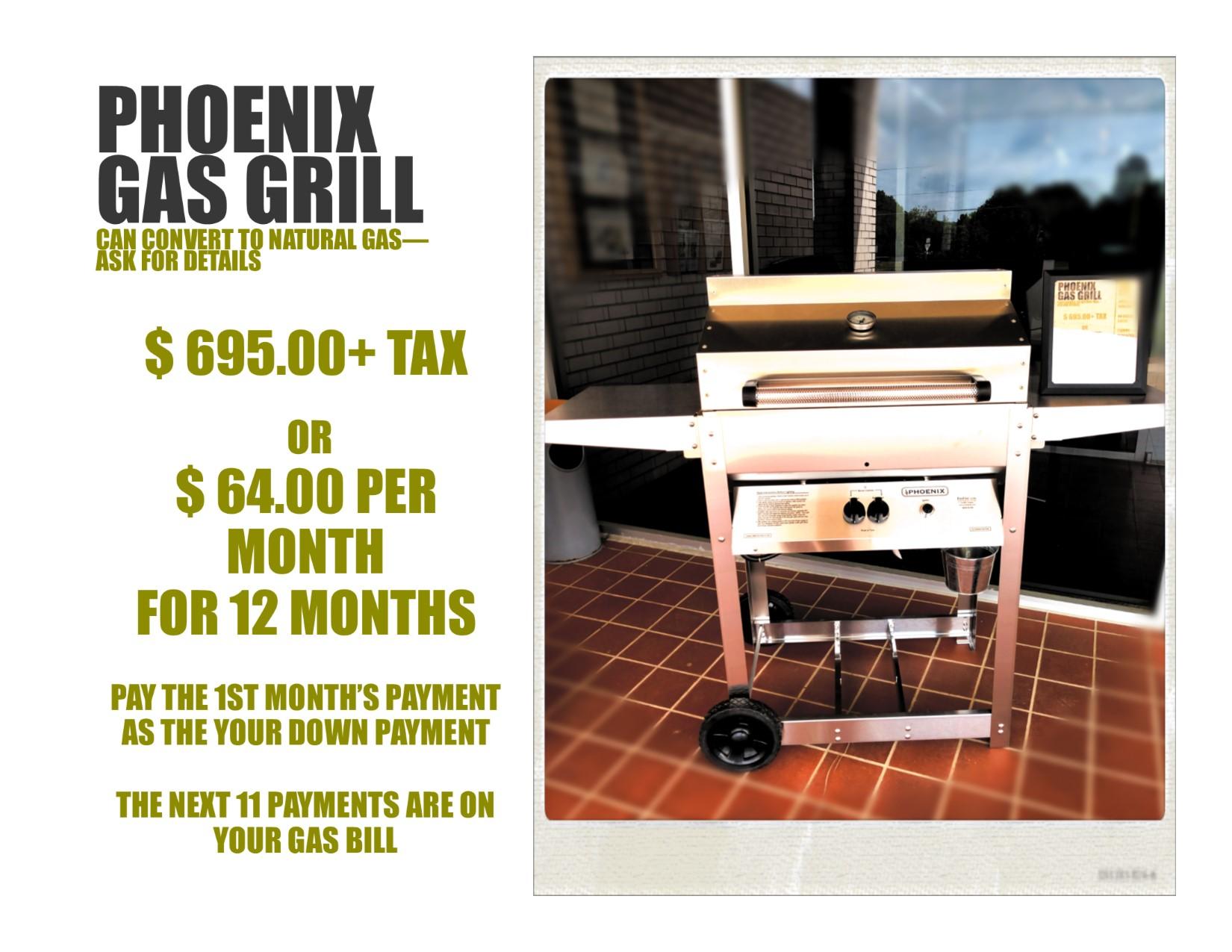 Phoenix Gas Grill
