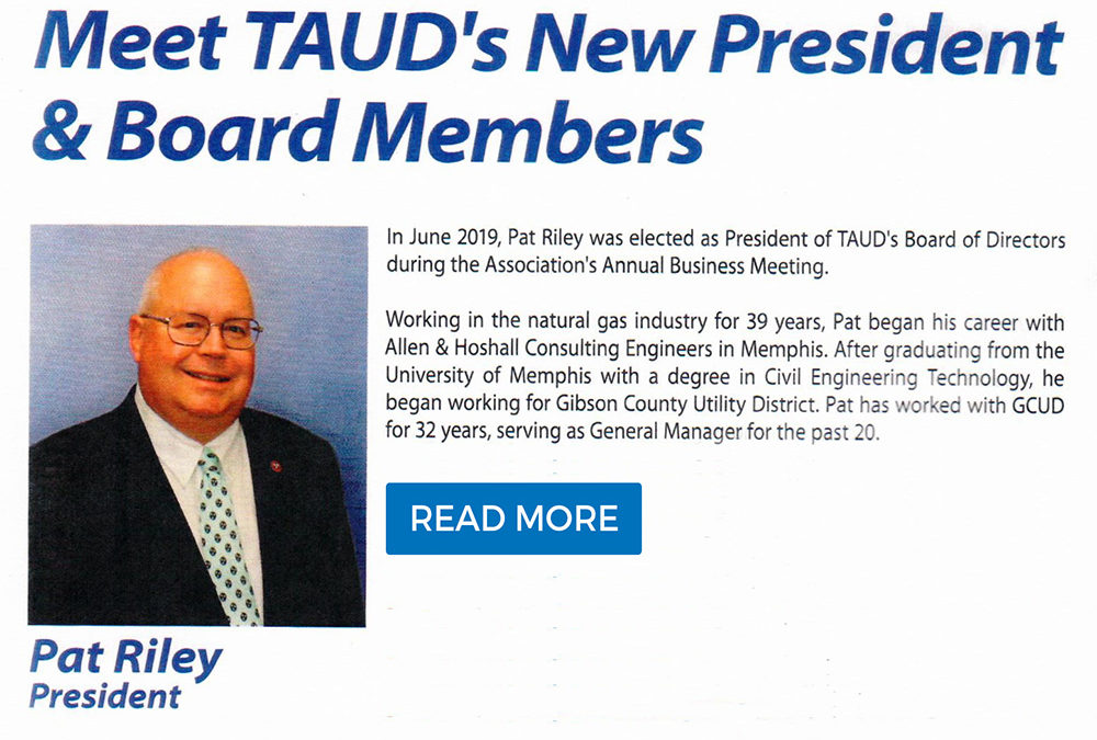 Pat Riley Elected President of TAUD's Board of Directors